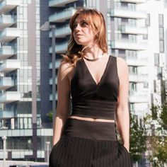 This Piece Of My Heart braalet black top is made of a strong blend jersey viscose. Black Tops, Black And White, Piece Of Me, Chic, Heart, Fashion, Shabby Chic, Moda, Blanco Y Negro