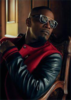 Jamie Foxx & Jeremy Piven Front New Privé Revaux Sunglasses Campaign Celebrity Sunglasses, Mens Sunglasses, Celebrity Branding, Handsome Black Men, Men Photography, Sharp Dressed Man, Casual, Black Is Beautiful, Gq