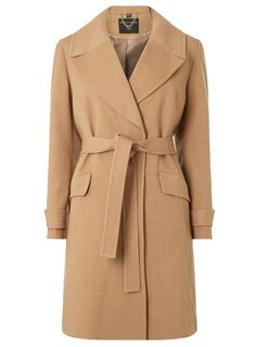 0c67d93bef0   DP Curve Camel Wrap Belted Coat - Plus Size Clothing - Clothing - Dorothy