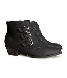 Low Boots in size 6 Product Detail | H&M US