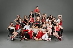 Dance team group photo