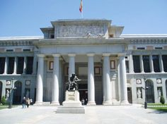 PRADO MUSEUM, Madrid, Spain - The Prado has one of the largest art collections in the world, and is best known for its diverse assortment of works by Velasquez, Goya and El Greco. Madrid Tours, Madrid Travel, Madrid Prado, Places To See, Places Ive Been, Ef Tours, Nyc Go, Italy Images, National Museum