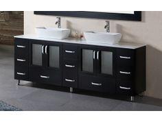 "72"" Stanton Double Bathroom Vanity http://www.maxfurniture.com/bathroom/double-vanities/72-stanton-double-bathroom-vanity-by-design-element-215760.html"