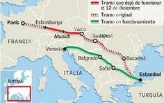 Recorrido por mi pueblo y sus alrededores: Se termina el Expreso de Oriente, el mítico tren que inspiró a Agatha Christie