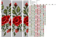 18 around tubular bead crochet rope pattern Bead Crochet Patterns, Bead Crochet Rope, Beaded Jewelry Patterns, Beading Patterns, Embroidery Patterns, Crochet Beaded Bracelets, Bead Loom Bracelets, Embroidery Alphabet, Beaded Embroidery