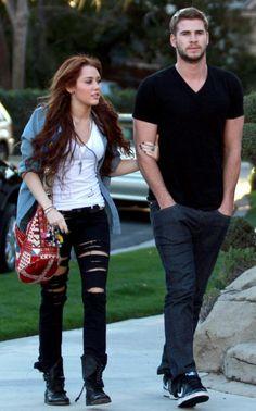 ❤Miley Cyrus & Liam Hemsworth❤