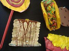 middle school food sculptures High School Art Projects, Kids Art Class, Art For Kids, Food Sculpture, Sculptures, Eid Crafts, 6th Grade Art, Jr Art, Collage Art Mixed Media
