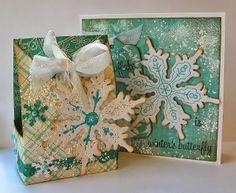 Fiskars Fuse Snowflake Card