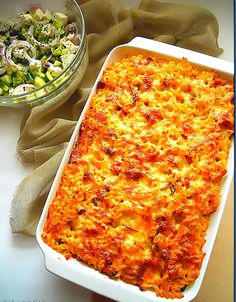 Cookbook Recipes, Cake Recipes, Cooking Recipes, Healthy Recipes, Baked Pasta Dishes, Greek Dinners, The Kitchen Food Network, Greek Recipes, Food Network Recipes