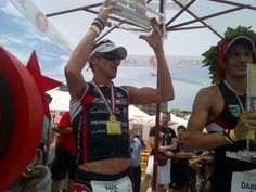 Alfa Romeo Giulietta and Team Peperoncino at Ironman 70.3, Pescara, Italy