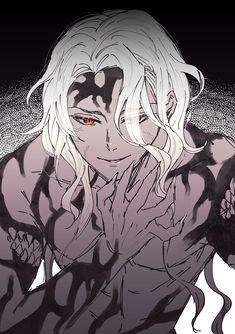 Dark Anime, Anime Demon, Anime Manga, Anime Art, Demon Slayer, Slayer Anime, Cute Anime Guys, Anime Love, Fantasy Characters