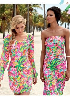 Lilly Pulitzer Resort '13- Carleigh Tunic Dress & Amy Dress