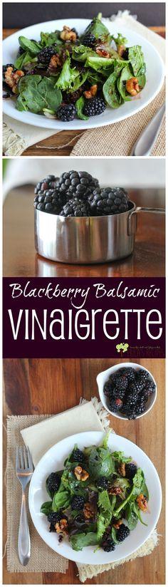 Blackberry Balsamic Vinaigrette from EricasRecipes.com