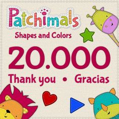 20.000 downloads! THANK YOU // ¡20.000 descargas! GRACIAS