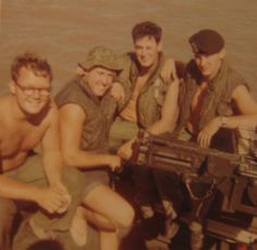 """Bill Schwartz was a """"River Rat."""" He was a brown water sailor who skippered a PBR patrol boat in the Mekong Delta area of South Vietnam in 1968 during the Vietnam War."""