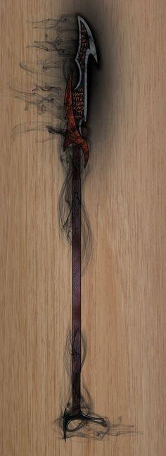 Fiend-Glaive by Handofheaven