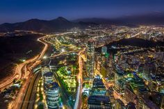 Santiago From Above by pauloqfernandes