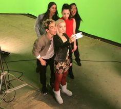 #Descendants Booboo, Cameron, China, Sofia and Dove