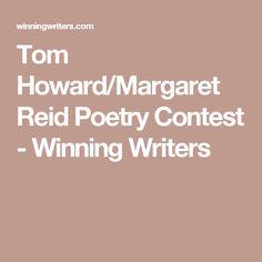 Tom Howard/Margaret Reid Poetry Contest - Winning Writers