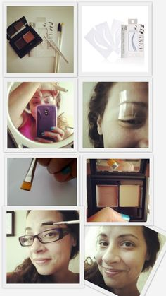 How-to use eyebrow stencils.