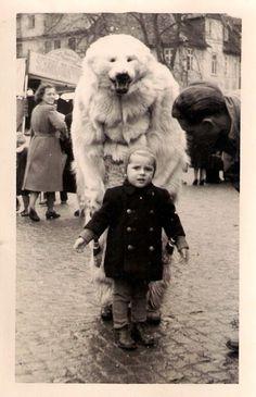 30 Strange But Delightful Vintage Photos Of Animals