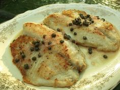 Made this tonight. I used 3 T lemon, more butter and oil, 5 filets, about 1/2 cup chopped green onion and 2 T capers.  http://fishcooking.about.com/od/fishfilletrecipe1/r/Easy-Tilapia-Piccata-Recipe-How-To-Make-Tilapia-With-Lemon-Caper-Sauce.htm