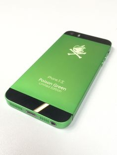 Iphone 5s, Apple Iphone 5, Laser Tattoo, Laser Engraving, Ipad, Green