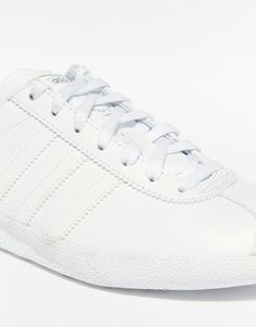Image 4 of adidas Originals Gazelle White & Silver Trainers