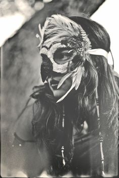 Mask by Primal Arts Hawaii // bohemian collective