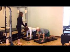 A quick example of Pilates Mat exercises to help the Hip Replacement client!
