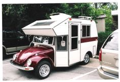 volkswagon camper - My dad had a volkswagon bug growing up, it would have been even more awesome if it had been this bug.