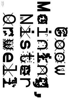 Type Specimen Poster - ZXX