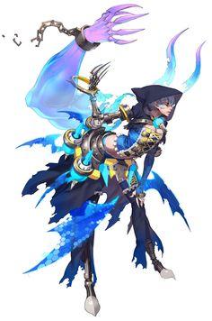 Female Warlock from Trinity 2