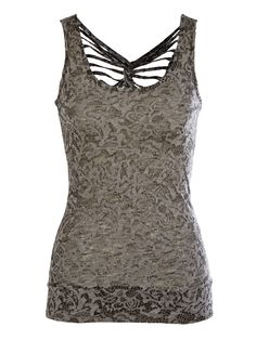 Burnout Web Back Tank - Fashion Tops - Tops
