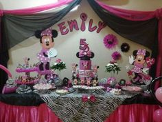 Cumple de Minnie Emily!!!