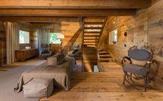 Casa Masso - Arte Rovere Antico Chalet Interior, Home Interior Design, Building Extension, Scale Design, Log Cabin Homes, Cabin Interiors, Ideal Home, Architecture Design, House Design