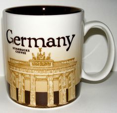 Starbucks City Mug, Germany