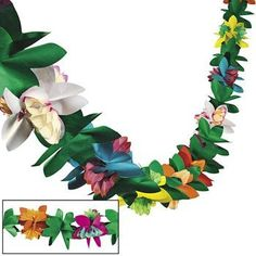 Tissue Flower Garland by Fun Express, http://www.amazon.com/dp/B004N5HMX6/ref=cm_sw_r_pi_dp_4.8hrb0TP5H4B