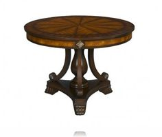 My foyer table!Orleans Round Foyer Table, Accent Tables Stein World 11796 Round Entry Table, Entry Tables, Round Tables, Accent Tables, Caracole Furniture, A Table, Dining Table, English Decor, Foyer Decorating
