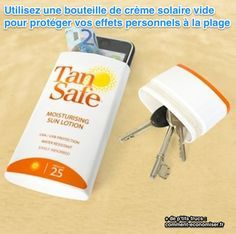 37 Essential Life Hacks Every Human Should Know Need the suntan lotion bottle trick for DR. No one steals sun lotion Lifehacks, Sun Lotion, Summer Fun, Summer Crafts, Summer Beach, Good To Know, Just In Case, Helpful Hints, Diy Projects