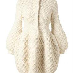 cappotto bianco moschino2013 PUNTO TRECCIA ROTORDA
