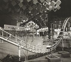 The Old Chicago Loop Rollercoaster at Old Chicago , Bolingbrook, Illinois