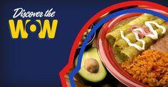 Just WOW! ¡Simplemente WOW!  #tacopalenque #discoverthewow #enchiladas