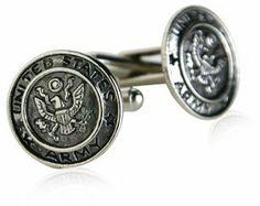 US Army Cufflinks Silver With Gift Box Cuff-Daddy, http://www.amazon.com/dp/B002T7VAQ0/ref=cm_sw_r_pi_dp_Jd25pb1EBEFQ5