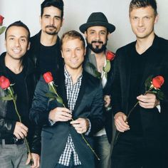 Backstreet Boys! My fav. boy band from my high school days!!! LOL!