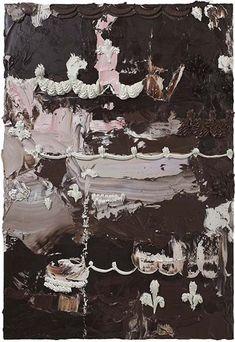Will Cotton, Sin título, 2012, óleo sobre lienzo, 47 x 32 Pulgadas. Cortesía del artista y María Boone Gallery