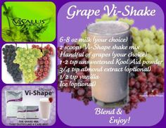 Grape Vi-Shake  www.lovethechallenge.myvi.net