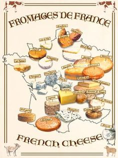 French Cheese Course: Selection and Etiquette Tips Pot Pourri, French Cheese, Savarin, Types Of Cheese, Cheese Lover, Best Food Ever, French Kitchen, Cheese Platters, Kitchen Dishes
