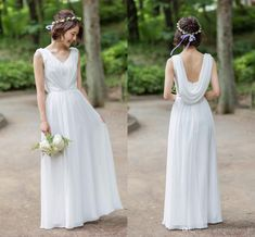 2020 Elegant White Backless Bridesmaid Prom Evening Dresses Chiffon Spring Country Designer New Arrival Wedding Party Bridesmaid Dress Cheap Bridesmaid Dress Colours Bridesmaid Dress Pattern From Stunningdress88, $60.31| DHgate.Com Patterned Bridesmaid Dresses, Bridesmaid Dress Colors, Cheap Bridesmaid Dresses, Wedding Dresses, Chiffon Evening Dresses, Chiffon Dress, Plus Size Dresses, Short Dresses, Stunning Dresses