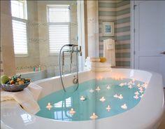 Arrangements bathroom - Bathroom decorations part Furniture Trends Romantic Bath, Dream Bath, Relaxing Bath, Bathroom Pictures, Home Spa, Bath Decor, Amazing Bathrooms, My Dream Home, Sweet Home